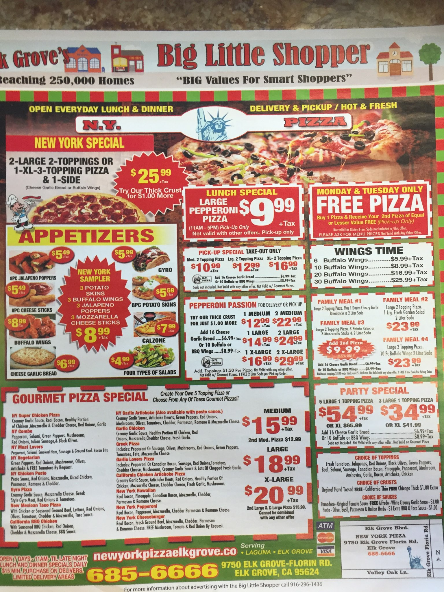 new york pizza coupons